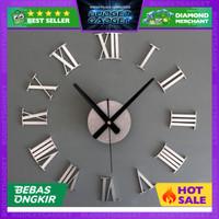 Jam Dinding Besar Raksasa DIY Giant Clock 30-60cm Diameter ELET00662