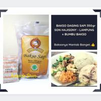 Bakso Sapi - Son Hajisoni 350 gram + Bumbu / Bakso Soni / Bakso Sony