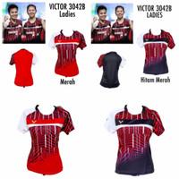 MURAH Baju Badminton Wanita Cewek Ladies Victor 3042B Grade Ori Import