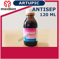 Antisep 120 ml Antiseptik Desinfektan Pembasmi Kuman Unggas Ayam Sapi