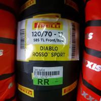 Ban Pirelli Diablo Rosso Sport 120/70-17 tubles