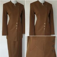 blazer wanita seragam dinas Pemda seragam khaki baju kantor Pemda asn
