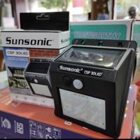 SINTE Lampu Dinding LED Solar Cell Tenaga Surya Sensor Gerak Waterproo