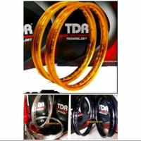 Velg TDR W Kotak 215 Ring 17 Gold Silver Black Original not tk excel
