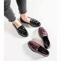 Docmart VELA / Sepatu Wanita / Sepatu Loafers Wanita / Bisa Bayar Di T