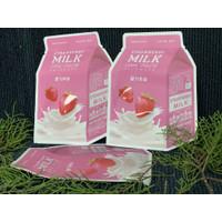 Masker wajah korea Apieu milk one pack mask sheet asli