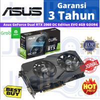 ASUS GeForce RTX 2060 Dual OC RTX2060 6GB GDDR6 VGA Nvidia
