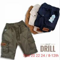 Celana Cargo Pendek Anak Laki-laki Noemi Usia 8-12 Tahun - Navy, 20