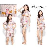 Baju Tidur Katun Jepang KJ-8065