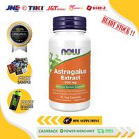 NOW Foods Astragalus 500 mg 90 caps NOW Astragalus Kekebalan Tubuh