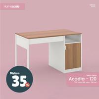 Meja Kerja Rumah ACADIA dengan Laci Penyimpanan Ukuran 120x60x75 cm