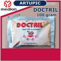 Doctril 100 gram Obat CRD Kompleks Ayam Unggas Medion Artupic