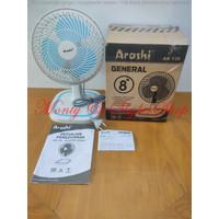Kipas Angin Meja ARASHI General Fan 8 inch AR 138 Auto Swing