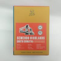 Kopi Arabika SEMENDO HERMETICALLY SEALED NATURAL 200g (Biji / Bubuk)