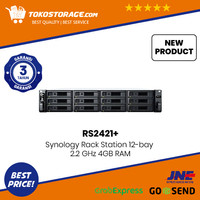 Synology RackStation RS2421+ 12 Bay Enterprise NAS Private Storage