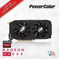 VGA PowerColor Red Dragon Radeon RX580 8GB - RX 580 8 GB DDR5