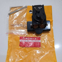 Bracket Nagoya B 66 hitam, breket antena mobil kap pintu mobile antenn