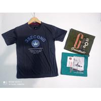 T-shirt Kaos Remaja Cowok - Motif Campur A