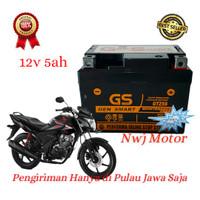Aki Motor Honda Verza 150 Mega Pro CW GTZ5S GTZ4V GS MF Aki Kering