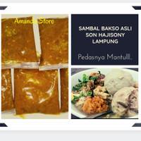 Sambal Bakso Asli - Son Hajisoni / Soni / Sony Lampung