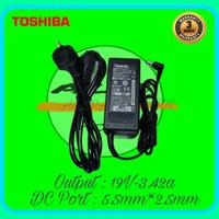 Adaptor Charger Laptop Toshiba Satellite C600 C640 C645 19V-3.42A 65W