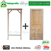 KPK01 - Set kusen pintu kamar kayu mahoni