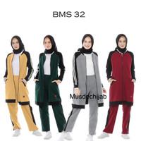Setelan Baju Olahraga Muslimah Syari Believe BMS 32 Original