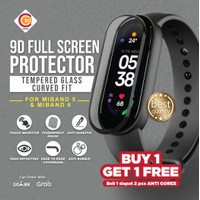 Xiaomi Mi band 6 Tempered Glass Anti Gores 3D Curved Fit Miband 6