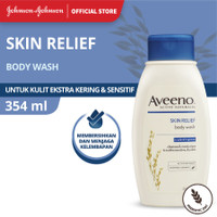 Aveeno Skin Relief Body Wash 354ml / Sabun Aveeno Kulit Sensitif 354 m