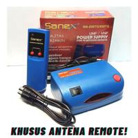 Booster Antena TV / Penguat sinyal TV / Power supply Sanex FREE KABEL