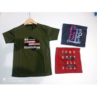 T-shirt Kaos Remaja Cowok - Motif Campur H