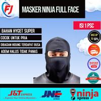 Masker Ninja full face topeng Anti polusi Balaclava Pria Cowok
