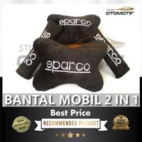 BANTAL LEHER SPARCO / BANTAL JOK MOBIL SARUNG BELT SPARCO 2IN1 BXC1