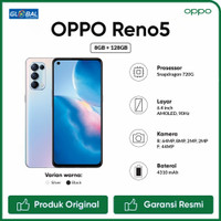Oppo Reno 5 Smartphone (8/128GB) Garansi Resmi