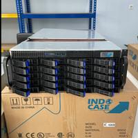 CASE RACKMOUNT IC4202 4U w/ 800W ATX MODULAR 80+ SILVER