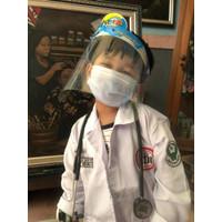 Jas Dokter Anak Unisex / Baju Profesi Anak / Kostum Anak Unisex