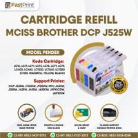 Cartridge MCISS LC12 Compatible Brother J525W J425W J430W Pendek Kos