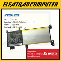 Baterai Original ASUS A442 A442U A442UR X442 F442U A480U C21N1638