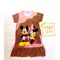 Baju Dress Anak Perempuan LV Mickey/DABG-21V