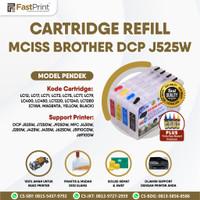 Cartridge MCISS Refill Compatible Brother J525W J425W J430W Plus Tinta