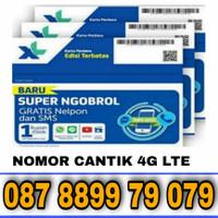 NOMOR CANTIK KARTU PERDANA XL 4G LTE 99