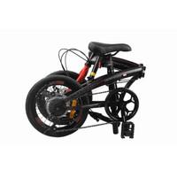 JNE Sicepat Sepeda Lipat Odessy Phyton Batik Edition 20 inch Shimano