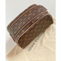 LV king size toiletry bag-monogram kanvas 28cm handbag LV unisex