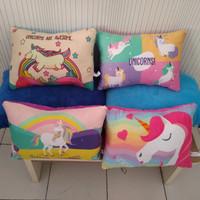 Bantal Boneka unicorn kuda pony bantal anak