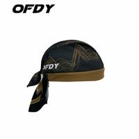 headband sport pria bandana cycling caps OFDY BROWN GOLD original OFDY