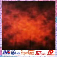 foto studio background abstrak corak merah 2,5x3m