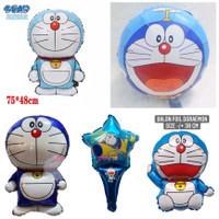 Balon Foil Bulat Doraemon -Ulang tahun Karakter anak