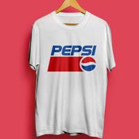 Kaos T-shirt Pepsi Retro Fashion Baju Vintage Pakaian Katun Combed