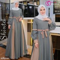 Baju Syari Muslim Hijab Baju Gamis Murah Baju Gamis Wanita Terbaru SS2