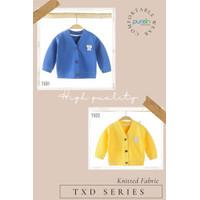 Purein - Baju Hangat Sweater Jaket Lengan Panjang Anak Bayi Set 1